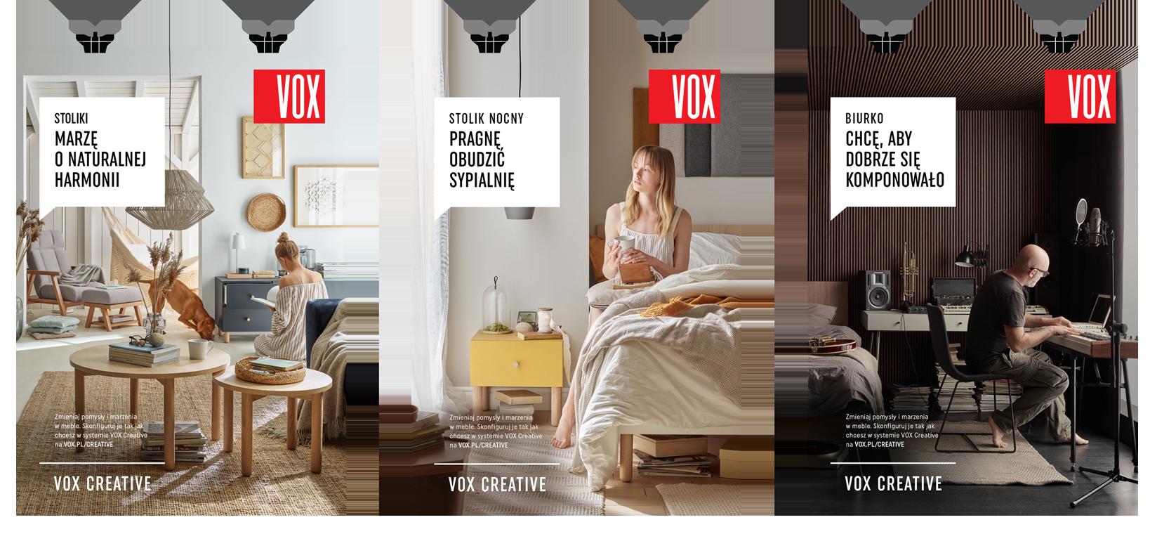 VOX - Kampania podwójnie creative